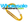 2-inch Carabiner Keychains (50mm) with Custom Engraving