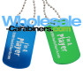 Bulk Custom Dog Tags - Engraved Dog Tags at Wholesale-Carabiners