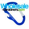 Custom Engraved Carabiner Bottle Openers - Blue