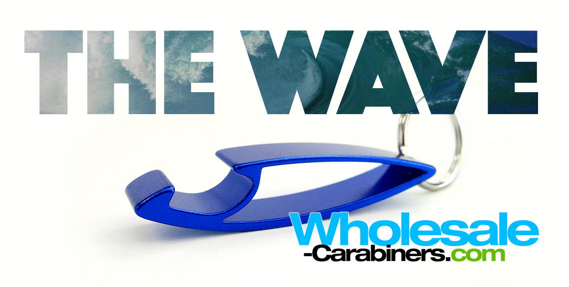 wholesale-carabiners-the-wave-bottle-opener-keychain