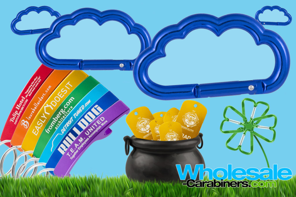 Gear up for St Patty's Day promotions at Wholesale-Carabiners.com