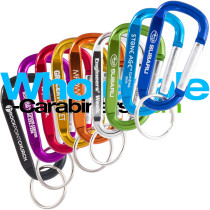 2.5-inch Carabiners - Custom Engraved Aluminum Keychains