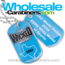 Full Color Printed on Metal Custom Dog Tags