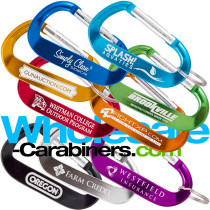 Custom Engraved LogoBeener® Carabiner Keychains