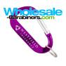 70mm LogoBeener® Carabiner Keychains
