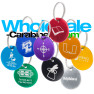 Round Medallions Custom Engraved Dog Tags with Split Ring