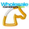 Gold Horse Shaped Carabiner Keychains