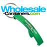 Custom Laser Engraved Green Arc Keychain Bottle Opener