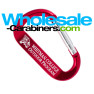 Custom Engraved LogoBeener® Carabiner - Red