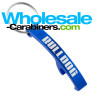 Laser Engraved Arc Bottle Opener Keychain - Royal Blue Color