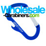 Custom Engraved Carabiner Bottle Openers - Blue