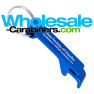 Custom Engraved Pop-A-Top Bottle & Can Opener Keychain - Royal Blue