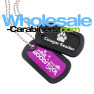 Dog Tags with Silencers - Custom Laser Engraved With Your Artwork